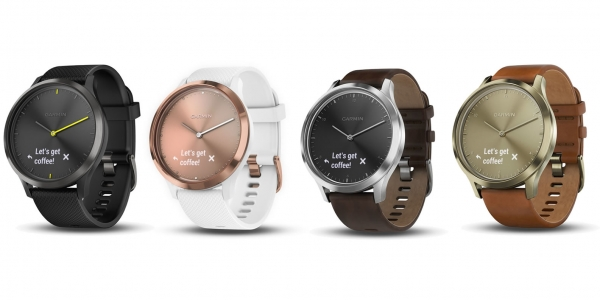 vivomove HR il primo Smartwatch analogico di GARMIN